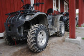 Two ATVs outdoor — Stock Photo