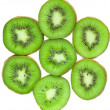 Pieces of kiwi — Stock Photo #5387627