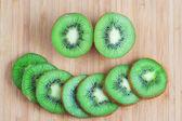 Fresh Slices of Kiwi — Stock Photo