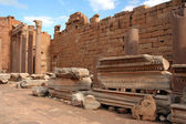 Basilica at Leptis Magna Libya — Stock Photo