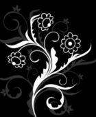 Fondo de la flor — Vector de stock