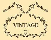 Plantilla vintage — Vector de stock