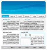 Template web site — Vetorial Stock