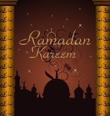 Ramazan celebration background — Vector de stock