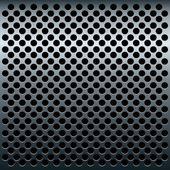 Illustration of titan metalic texture for design — Stock Vector