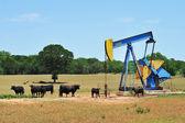 Oil Well Pumper. — Stock Photo