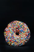 Rainbow Doughnut — Stock Photo