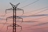 Transmission line — Stock Photo
