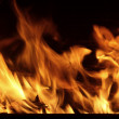 Fire in Your fireplace - Stock Photo
