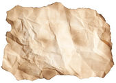 Old scorched paper sheet — Stock Photo