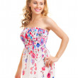 Young woman in a sundress — Stock Photo #5863513