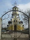 Church. Ukraina Makeeevka — Stock Photo
