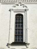 Architectural element of a window, church — Stock Photo