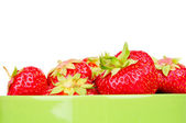 Strawberry isolated on a white — Stock Photo
