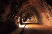 Old mine tunnel — Stock Photo