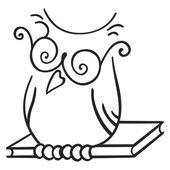 Wisdom symbol — Stock Vector