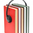 Stock Photo: Audiobooks