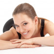 Young woman fitness — Stock Photo #5464886