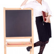 Stock Photo: Young teacher