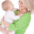 Mother's love, attachment and protection - Foto Stock