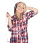 Smiling girl in headphones — Stock Photo #6129543
