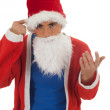 Man in Santa clothes — Stock Photo #6630543