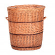 Wicker box, basket - Stock Photo