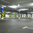 Royalty-Free Stock Photo: Empty underground parking