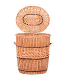 Wicker box, basket — Stock Photo