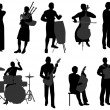 Royalty-Free Stock Vector Image: Musicians