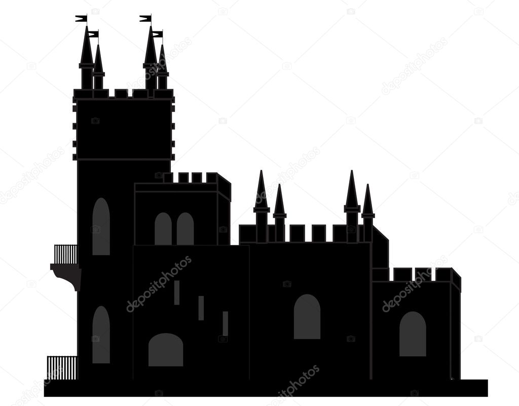 Castle  Stock Vector #5459399