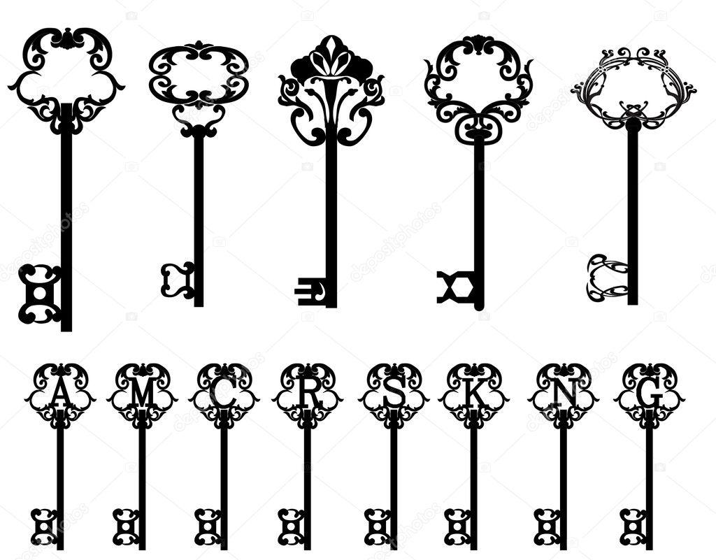 Vector Key Illustration: Stock Vector © 160377 #5459422