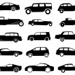 Royalty-Free Stock Vector Image: Car silhouette