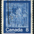 Postage stamp — Stockfoto #5535945