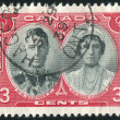 Postage stamp - Foto Stock