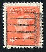 Známka vytištěna kanada — Stock fotografie