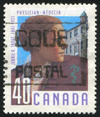 Stamp printed by Canada — Stock Photo