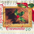 Stamp printed by Canada — Stock fotografie #5685959