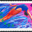 Poststamp — Stockfoto