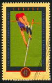 Poststamp — Fotografia Stock