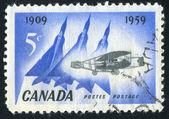 Poststamp — Stock fotografie