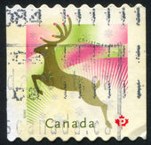 Sello imprimido por Canadá — Foto de Stock