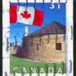 Stamp printed by Canada — Foto Stock