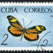 Poststamp butterfly — Stock Photo #6085064