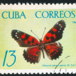 Poststamp butterfly — Stock Photo #6085212