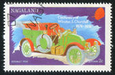 Poststamp car — Stockfoto