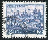 Historické město kolobrzeg — Stock fotografie