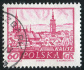 Historická města kalisz — Stock fotografie