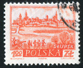 Historische stadt slupsk — Stockfoto