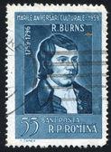 Robert Burns — Stock Photo